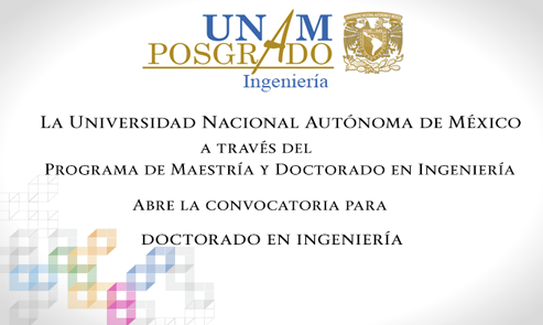 Convocatoria - Doctorado en Ingeniería